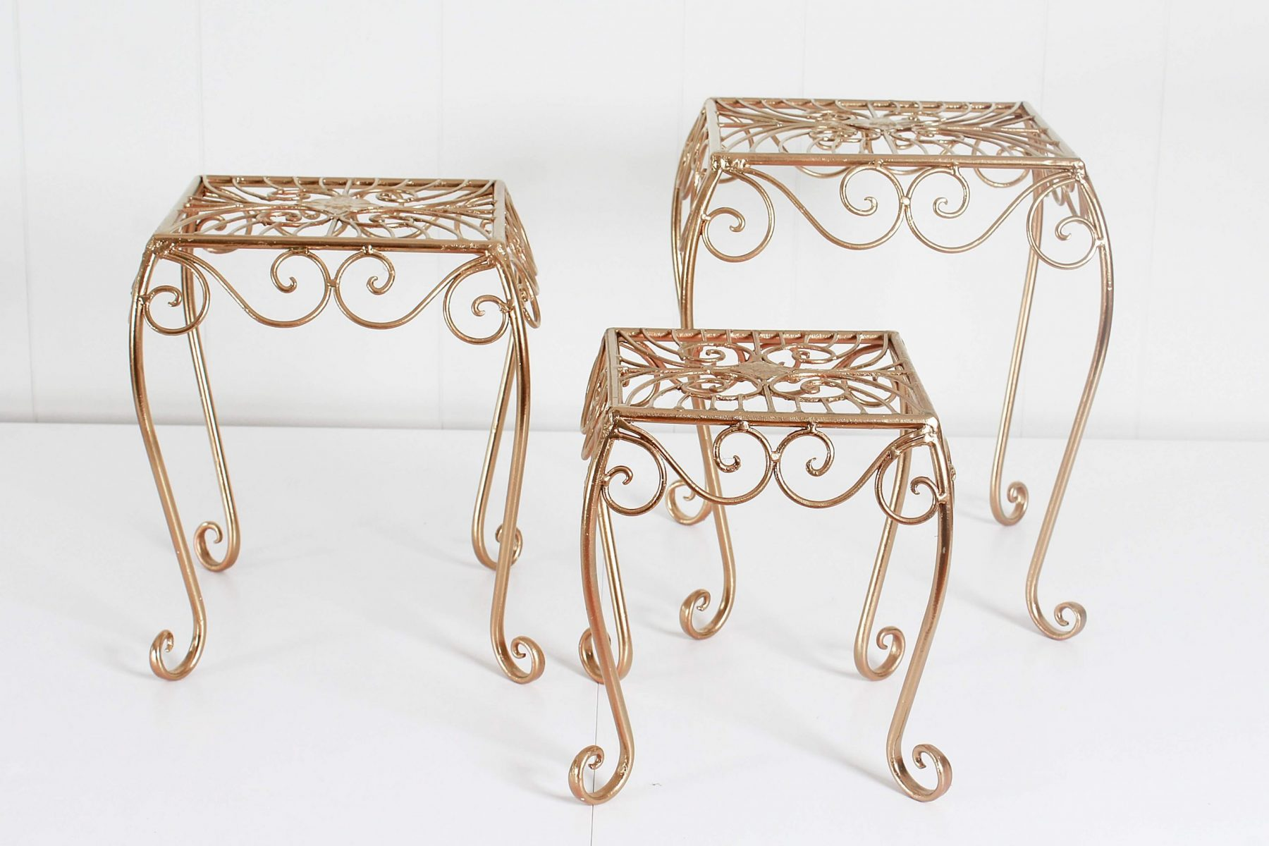 cake stands gold4
