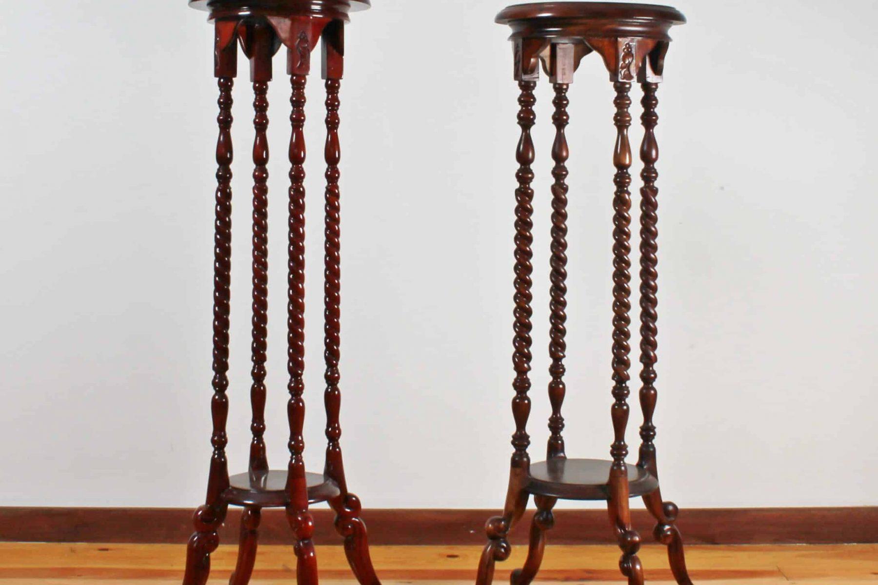 pedestals pair