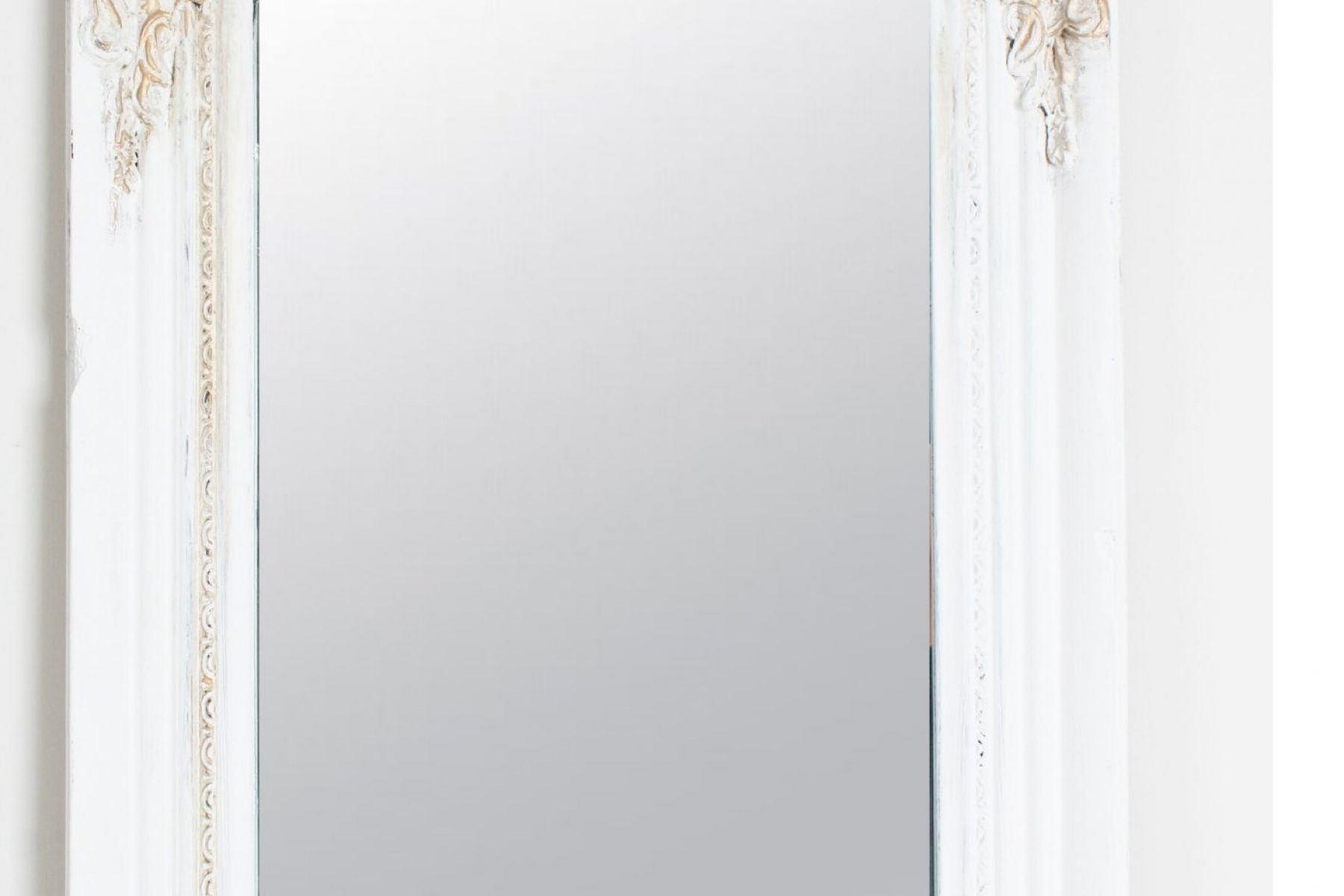 tall mirror closeup