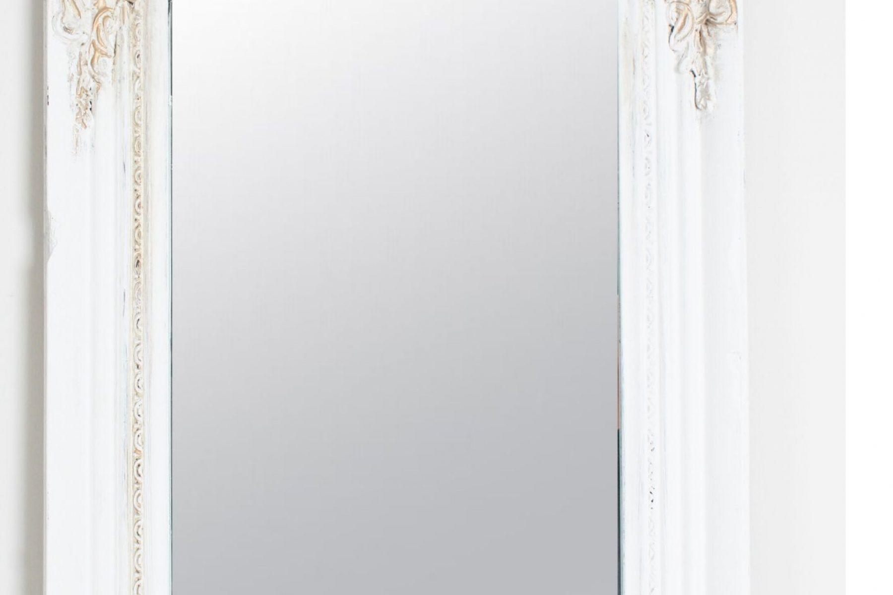 tall mirror closeup