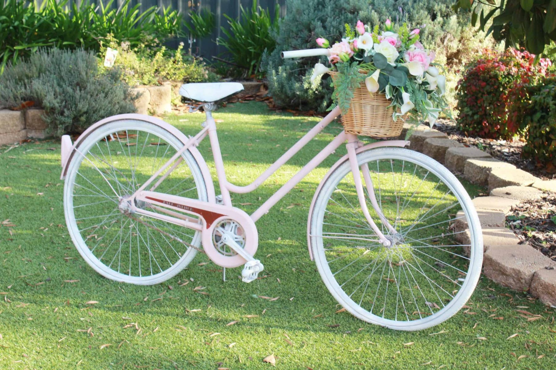 vintage bicycle side2