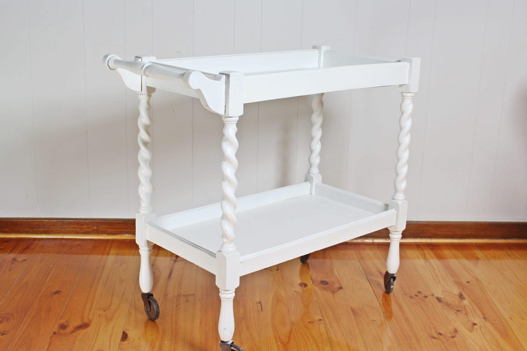white cart 5